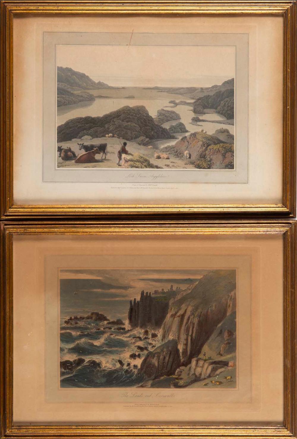 """The land's end, Cornwall"" e ""Loch Swene, Argylshi"