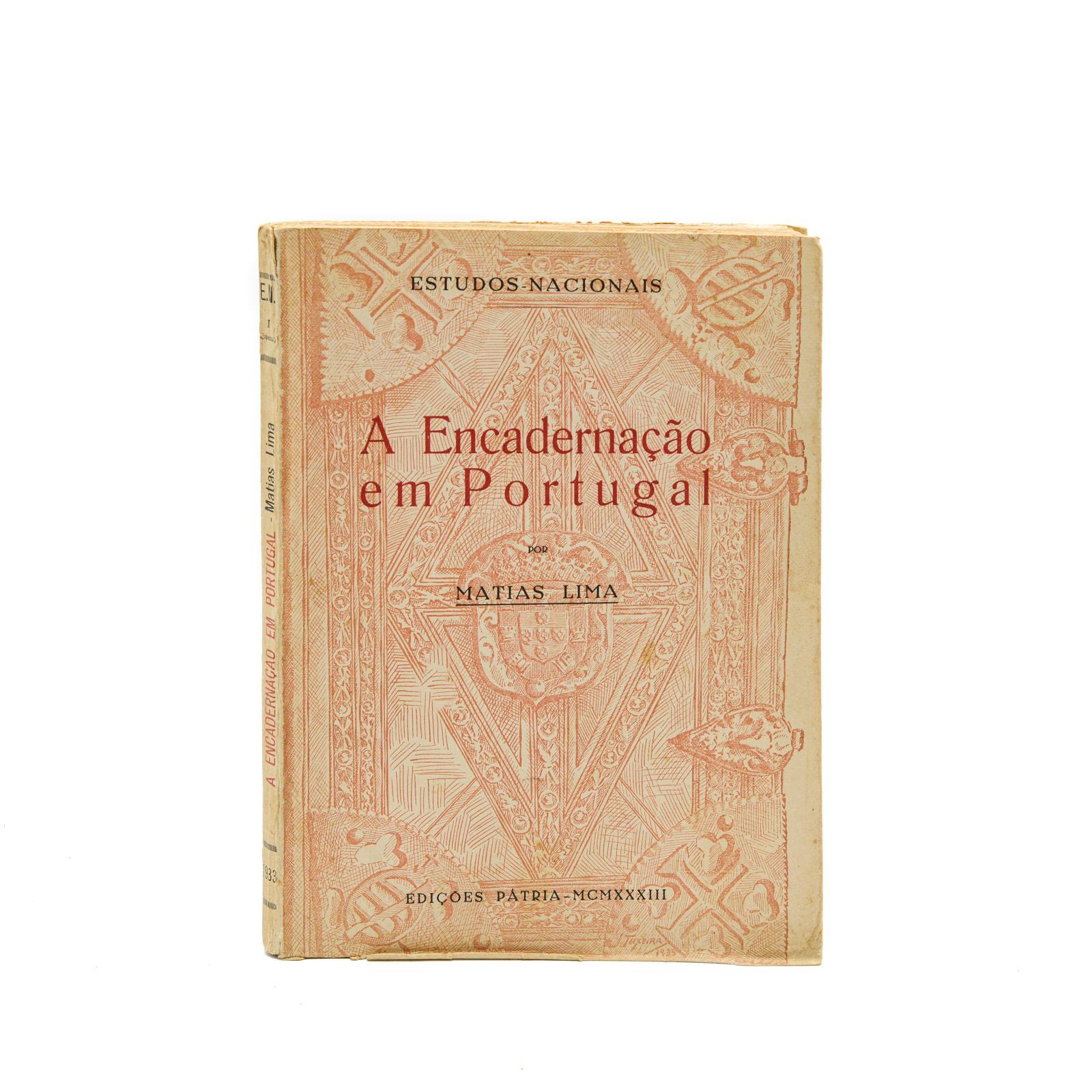 A ENCADERNAÇÃO EM PORTUGAL, 1 vol. br.