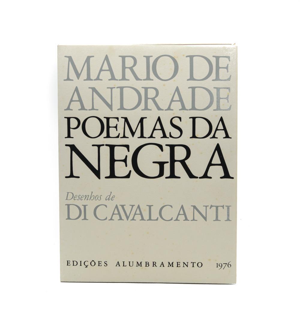 ANDRADE. POEMAS DA NEGRA, 1 vol.