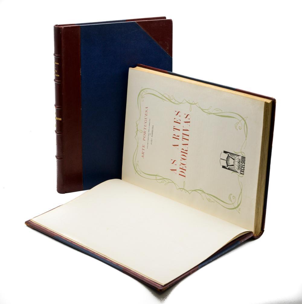 ARTE PORTUGUESA: As Artes Decorativas, 2 vols.encs