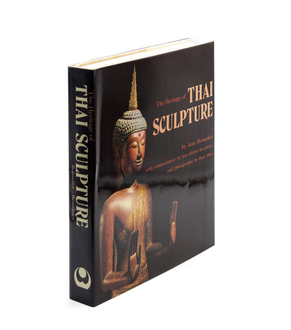 BOISSELIER. THE HERITAGE OF THAI SCULPTURE, 1 vol.