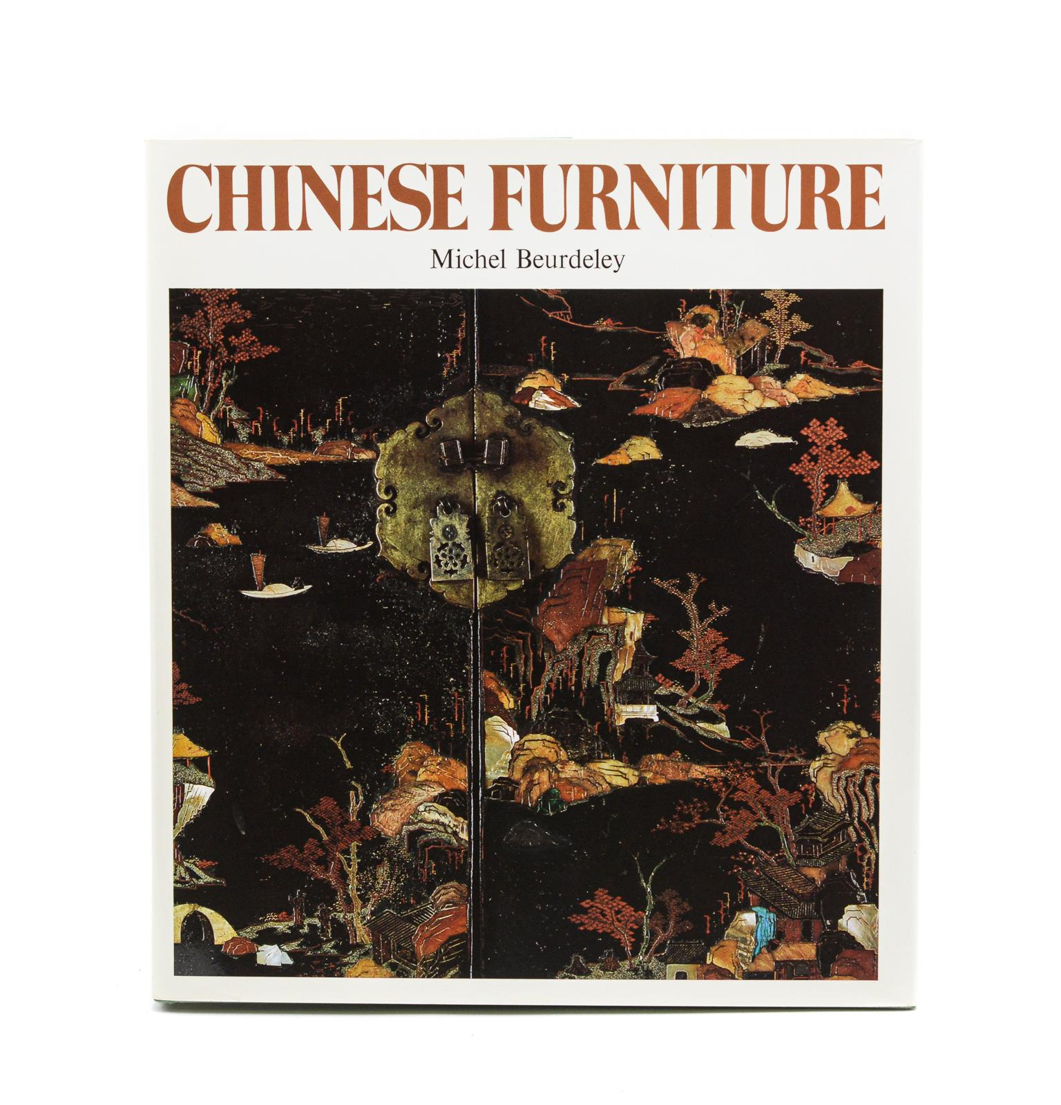 BEURDELEY. CHINESE FURNITURE, 1 vol. enc.
