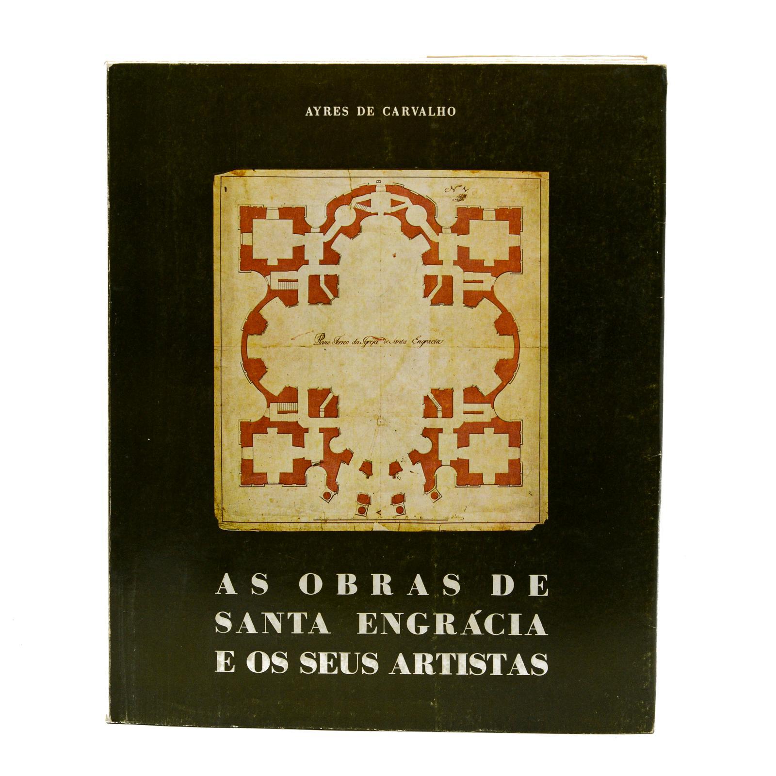 CARVALHO. AS OBRAS DE SANTA ENGRÁCIA...1 vol. br.