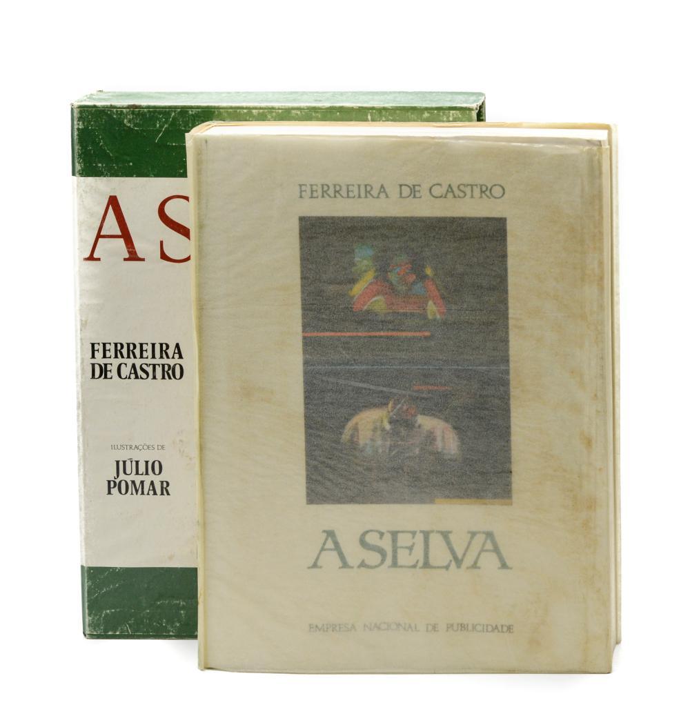CASTRO, Ferreira de. A SELVA, 1 vol. br.