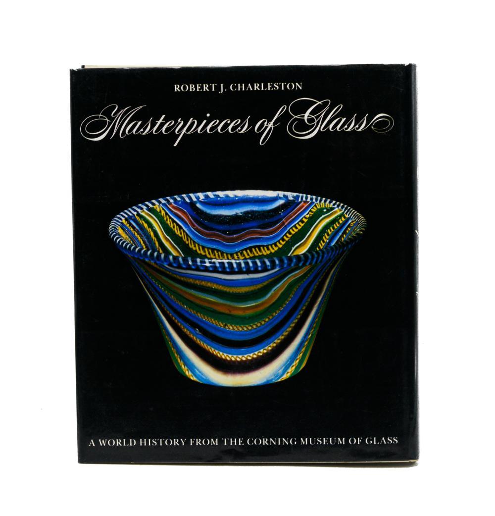 CHARLESTON. MASTERPIECES OF GLASS, 1 vol. enc.