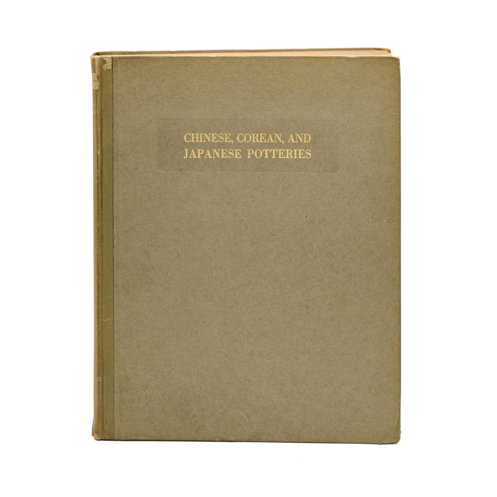 CHINESE, COREAN AND JAPANESE POTTERIES, 1 vol. enc