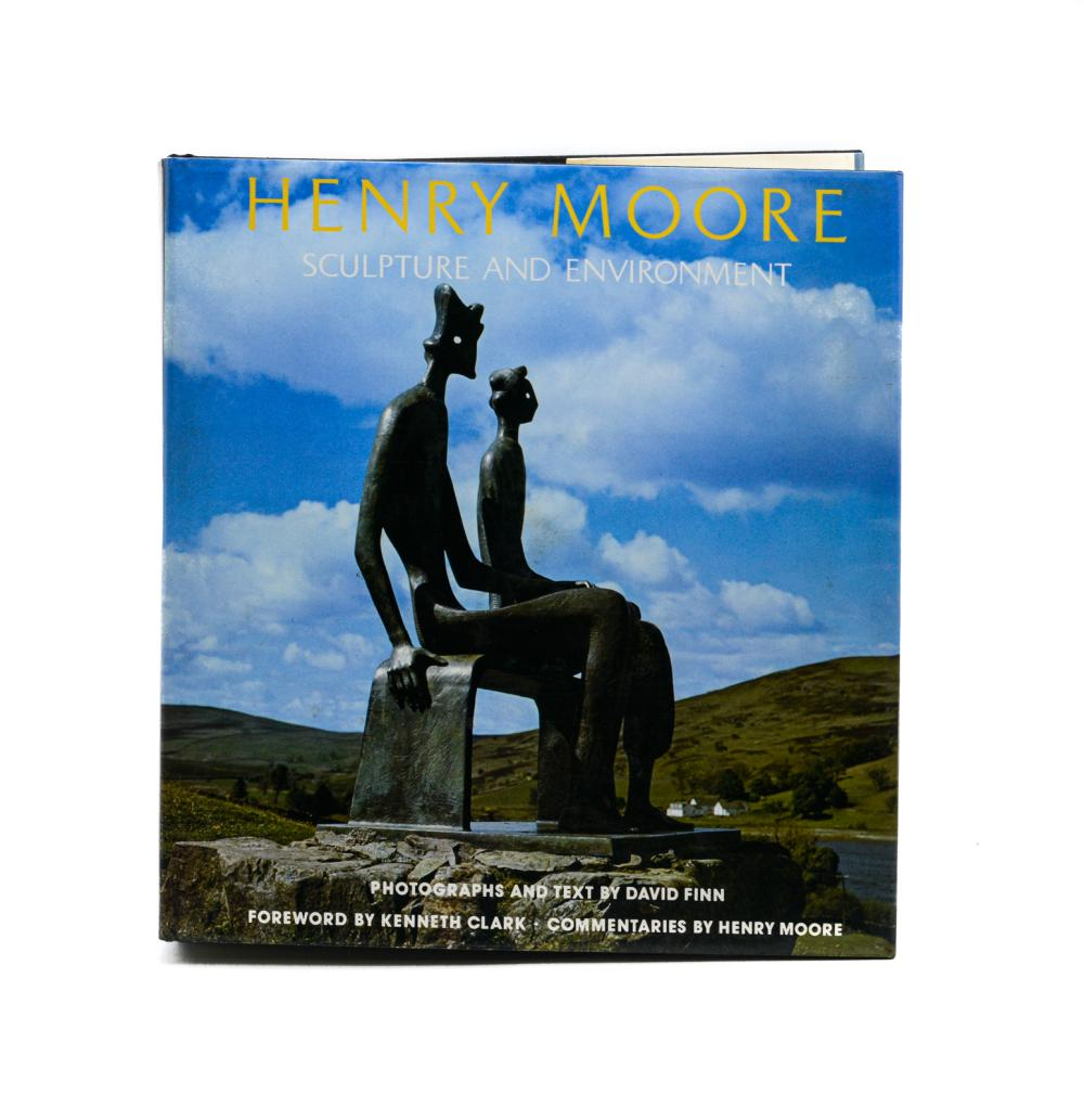 HENRY MOORE:Sculpture and Environment, 1 vol. enc.