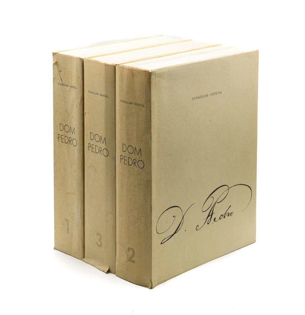 HERSTAL, Stanislaw. D. PEDRO, 3 vols. brs.