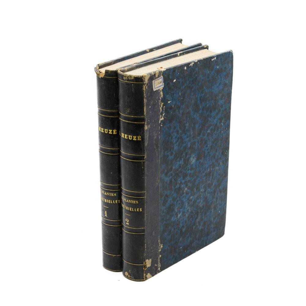 HEUZÉ. LES PLANTES INDUSTRIELLES, 2 vols. encs.