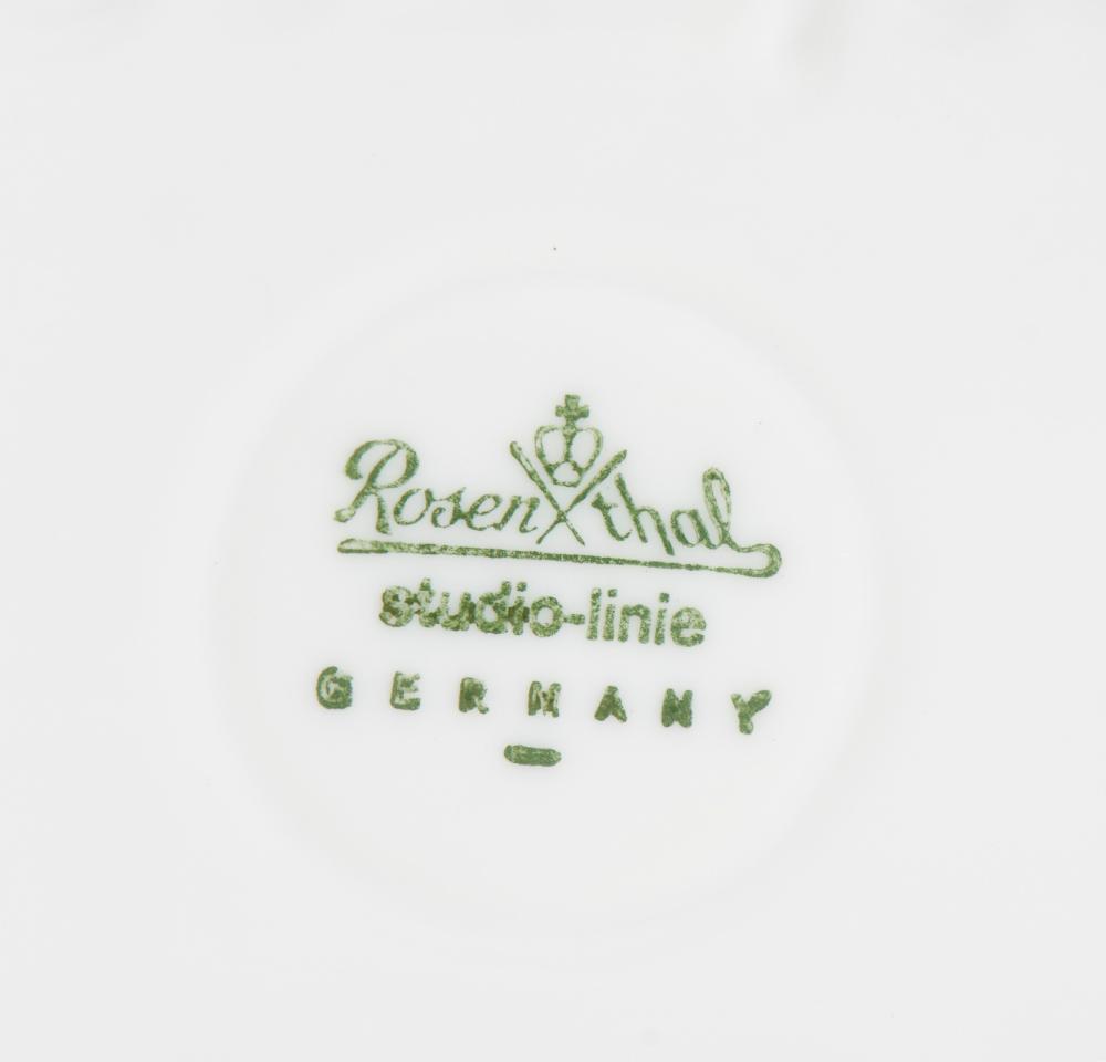 Jarra em porcelana alemã, Rosenthal - Studio Linie