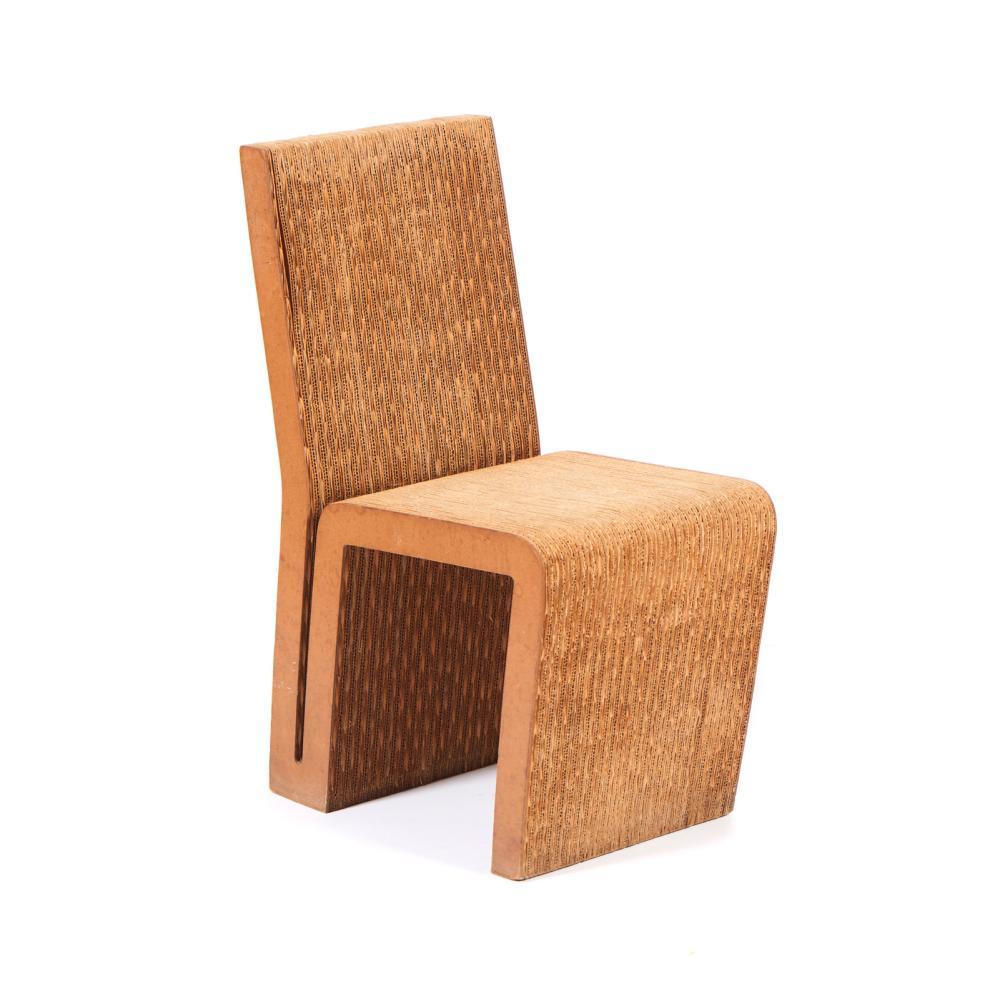 GEHRY, Frank, Cadeira em cartão canelado