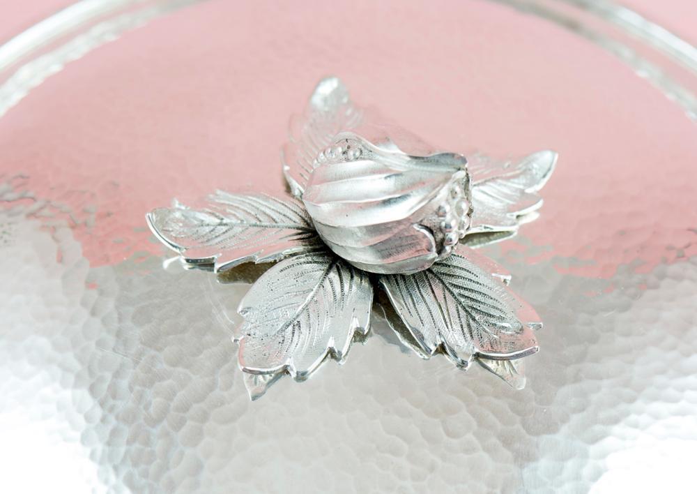 Terrina com tampa em prata, 833%, P.1330g.