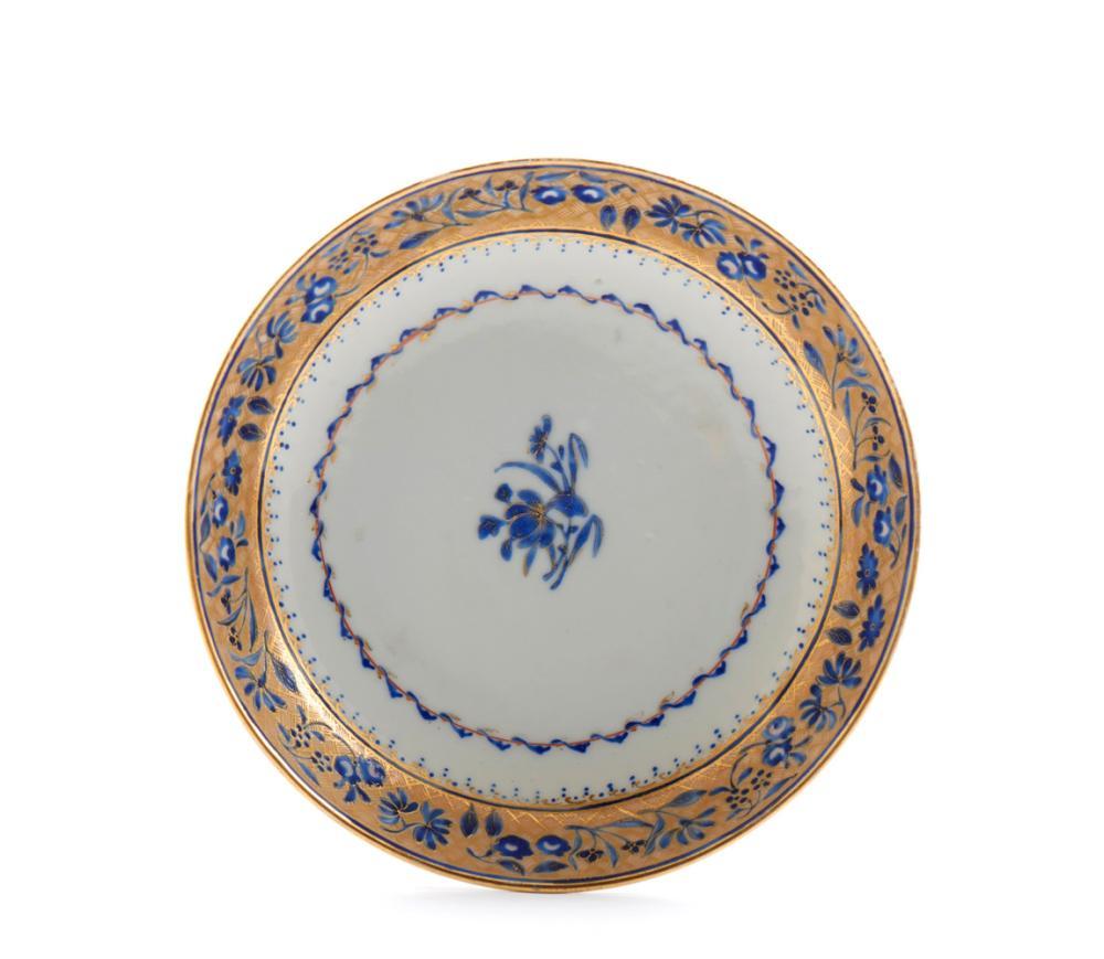 Par de taças c/ pires em porcelana chinesa CI (4)