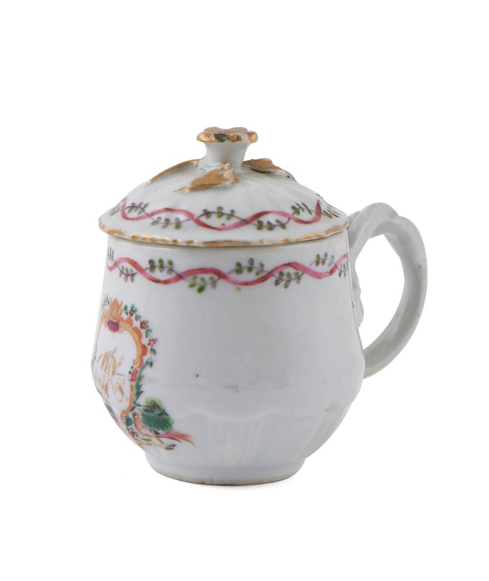 Conj. de quatro cremeiras em porcelana chinesa CI