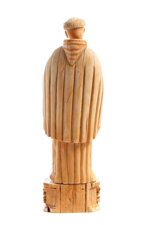 Stº Antº c/Menino Jesus, XVII/XVIII, marfim