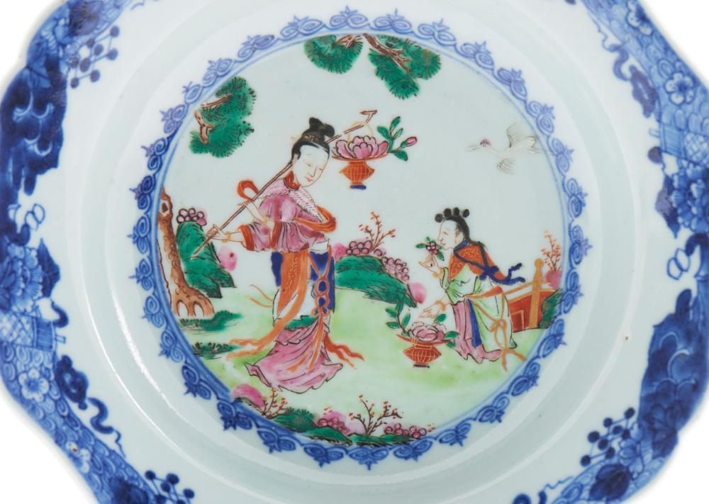 Prato fundo porcelana chinesa CI