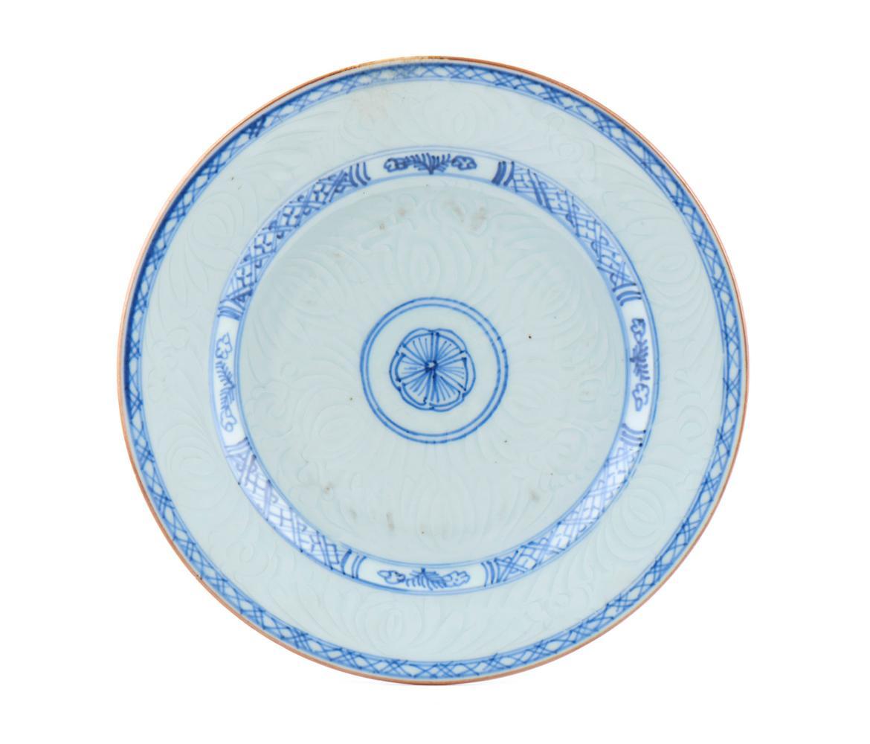 Prato em porcelana chinesa CI