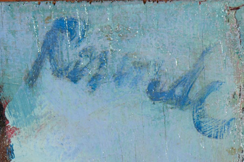 JÚLIO RESENDE, Óleo s/contrap. 40 x 48 cm.