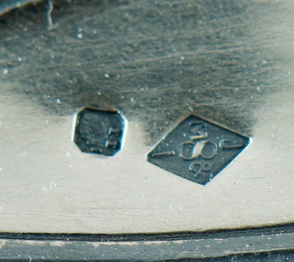 Samovar em prata 833%, séc. XIX/XX, P.3136 g.