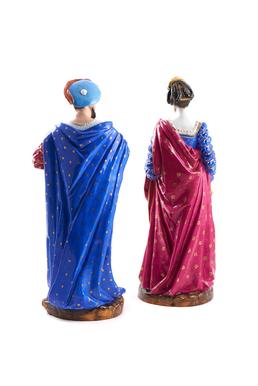 Par de esculturas em porcelana francesa (2)