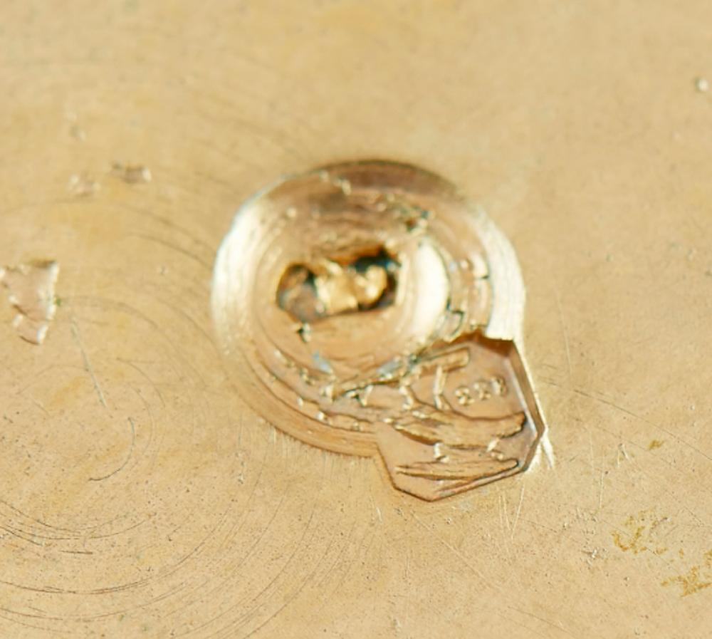 Grande jarra em prata 833%, P: 1902 g.