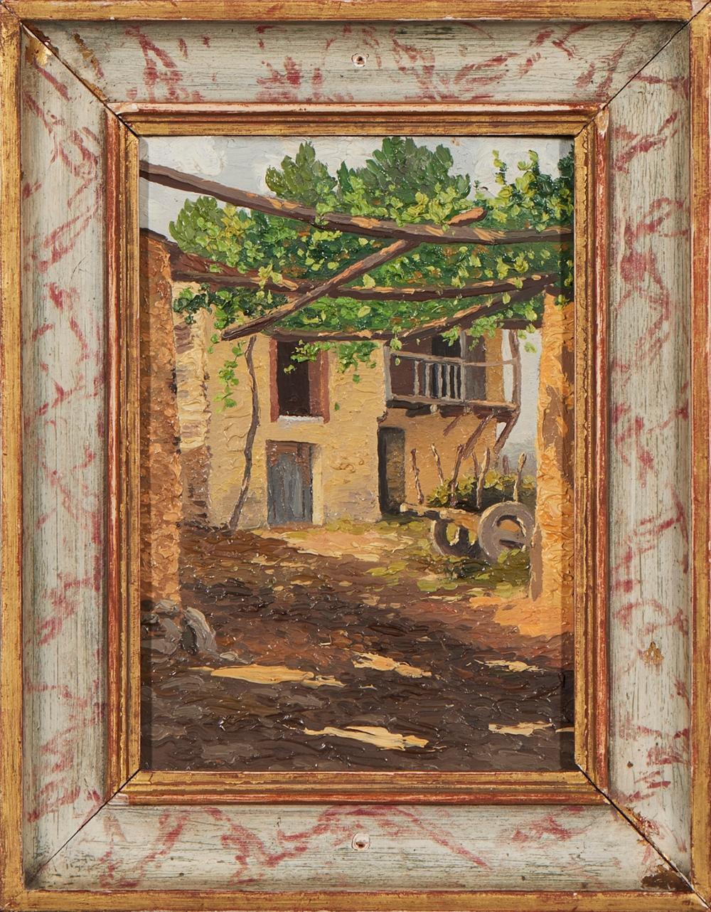 ALVAREZ, José, Óleo sobre cartão, 20,5 x 15 cm.
