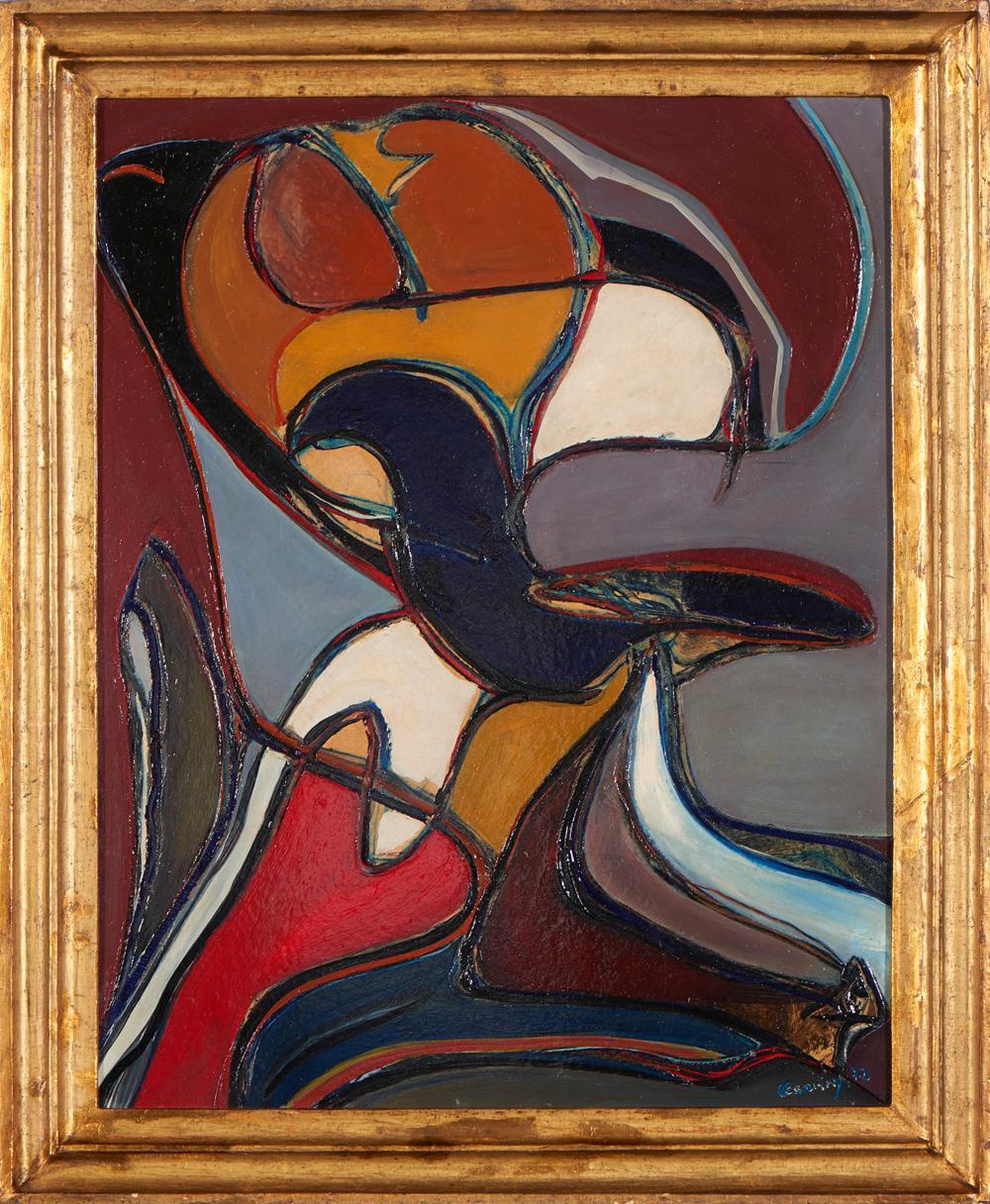 CESARINY, óleo s/tela, 65 x 50 cm.