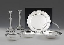 Prato de servir em prata, séc. XX, 916%; P. 996 g.
