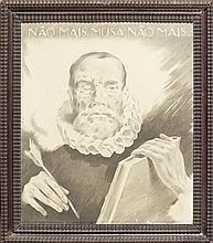 Varela Aldemira, desenho s/papel, 37,5x31,5 cm.