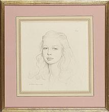 Eduardo Malta, lápis sobre papel, 34 x 32 cm.
