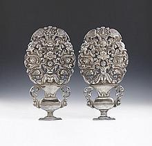 Par de placas em prata sul-americana, P.1329g.(2)