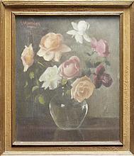 GANDON, Édouard, Pastel s/papel (?), 46 x 38 cm.