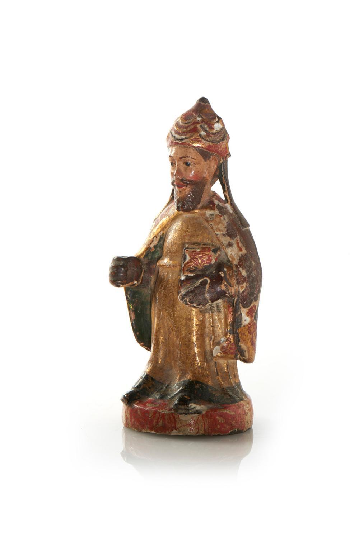 São Brás, escultura do séc. XVIII em madeira