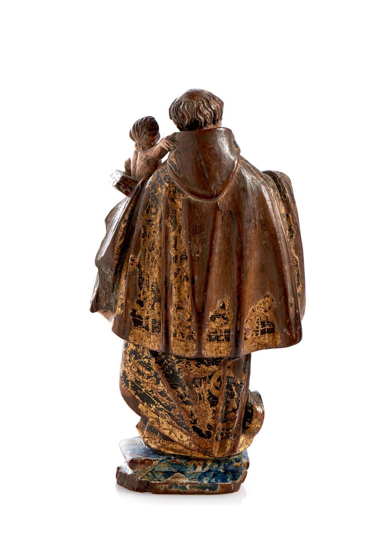 Santo António, escultura em madeira, séc. XVIII