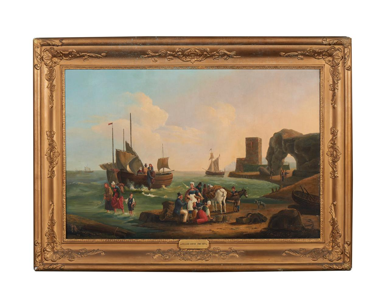 Círculo de William Shayer, Óleo s/tela, 82 x 121cm