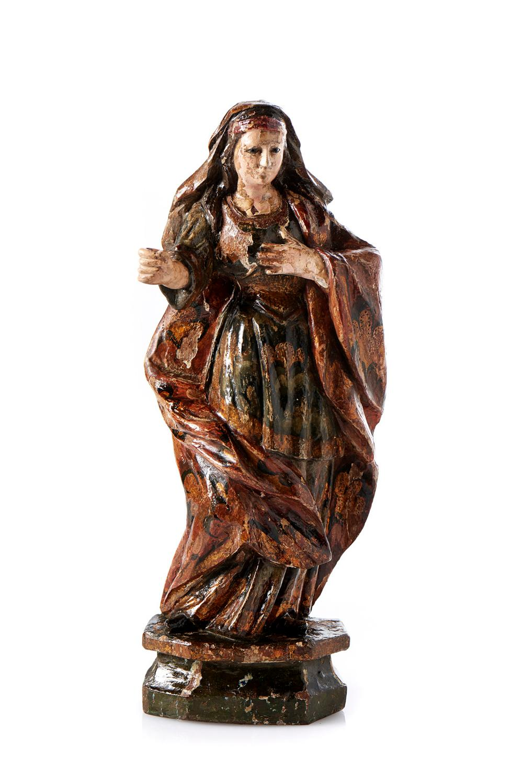 Nossa Senhora, escultura em madeira, do séc. XVIII