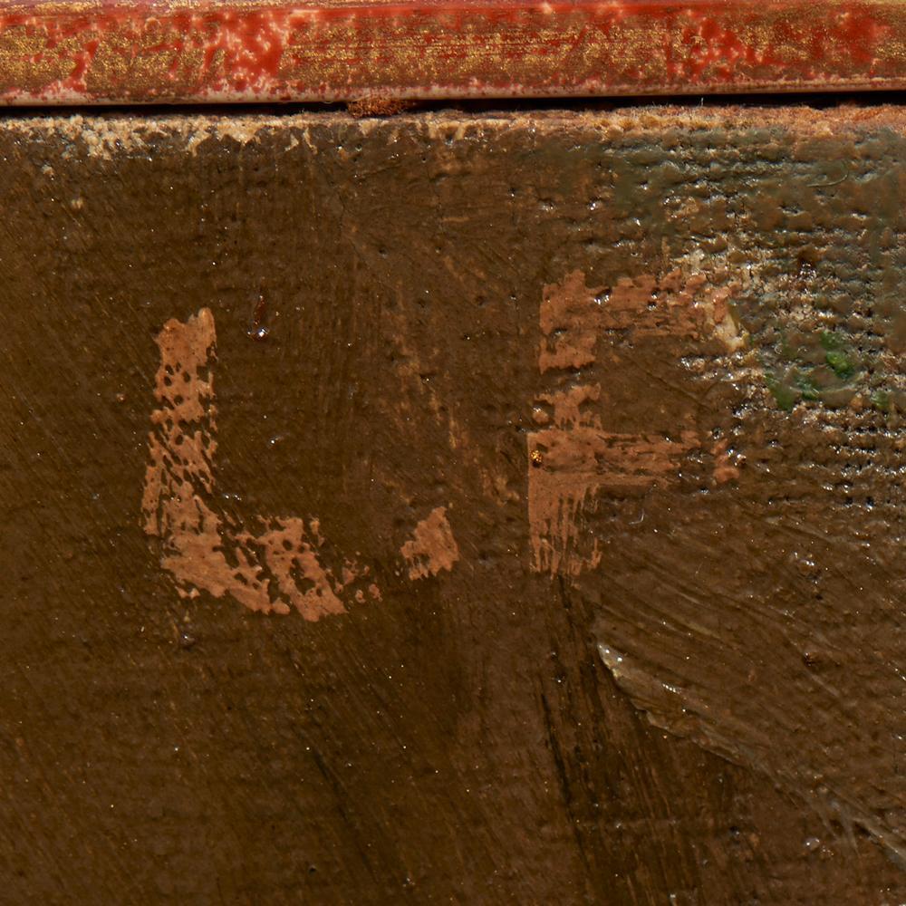 Autor não identificado, Óleo s/tela, 36 x 28 cm.
