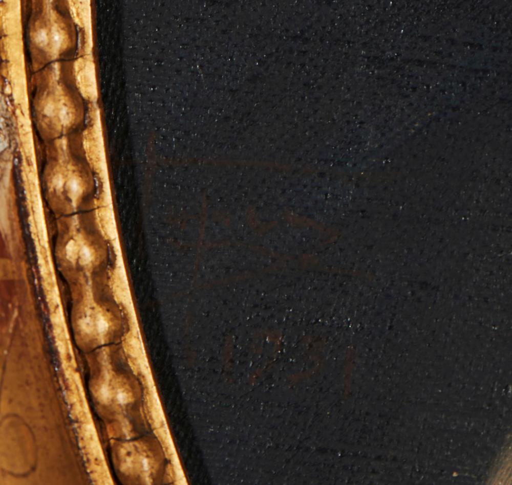 JOAQUIM LOPES, Óleo sobre tela, 40 x 29,5 cm.