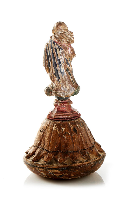 Nossa Senhora, Esc. XVIII, madeira