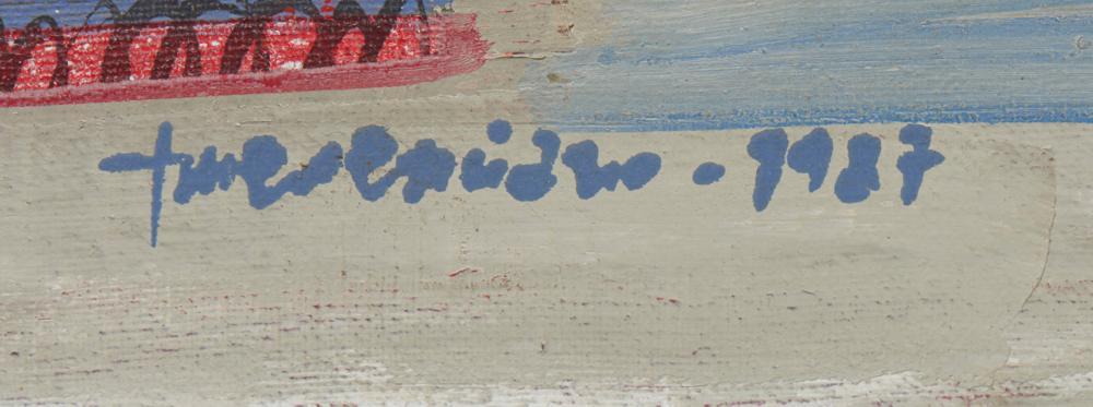 EMERENCIANO, Óleo sobre tela, 1987