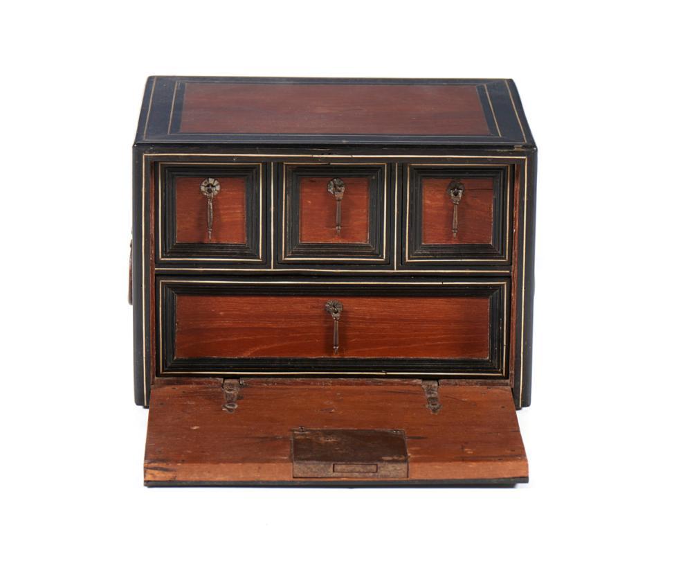 Peq. caixa contador indo-portuguesa, XVII