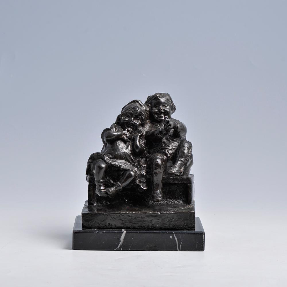 Juan Claro, Esc. em bronze