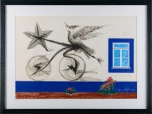 VESPEIRA, Serigrafia s/ papel, 64 x 93,5 cm.