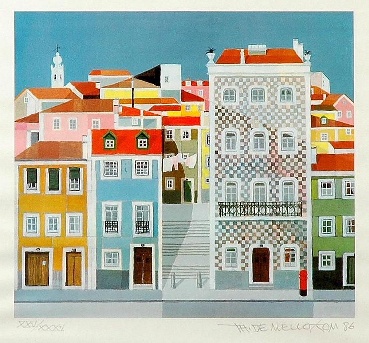 Tom, casas, serigrafia sobre papel, XXV/XXXV.