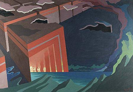 Calvet, 'Transmarinha', óleo s/tela