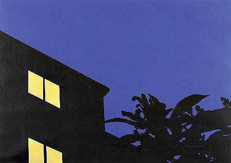 José Lourenço, acrílico s/papel, 50x70cm.