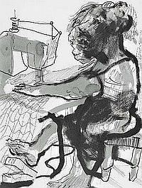 Nuno Viegas, desenho a tinta-do-China