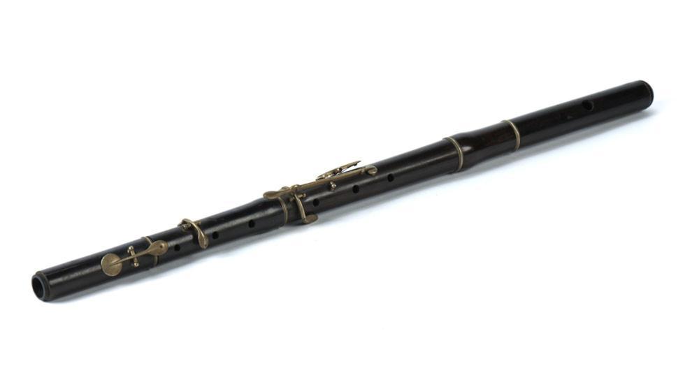 Flauta em madeira