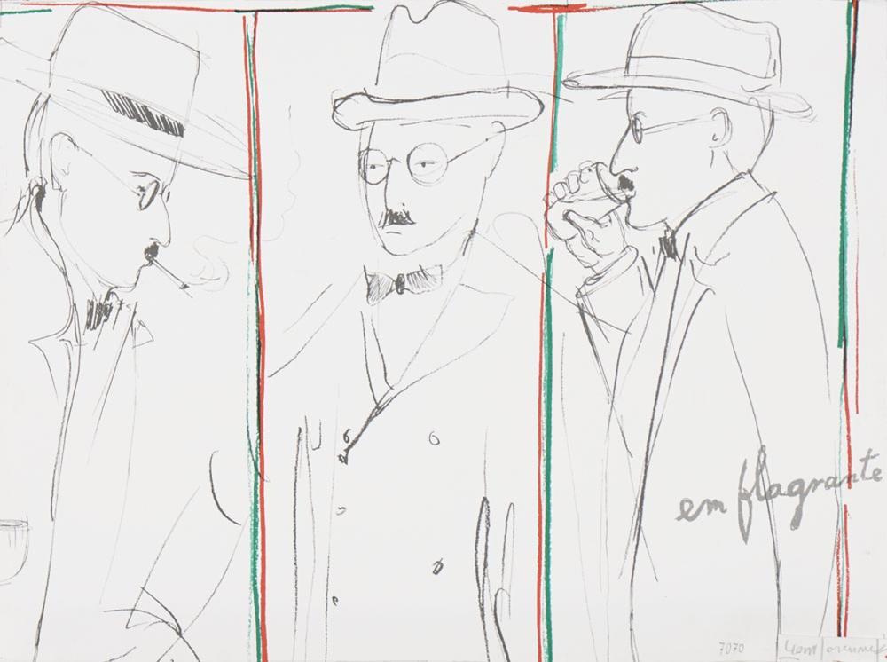 Autor ñ identificado, Estampa sobre papel, 37 x 49