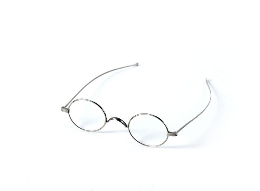 Óculos com armação, objecto uso pessoal do poeta